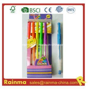 Gel Pen 6PCS Paper Box Packing pictures & photos
