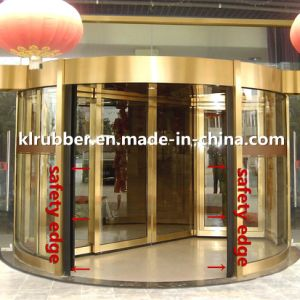 Rubber Safety Edge for Steel Entrances and Driveway Gates pictures & photos
