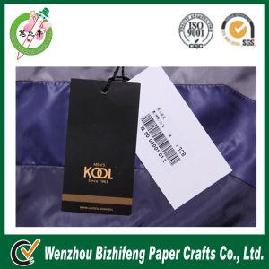 2014 New Fashion Barcode Hang Paper Tag for Clothing (BZFA-0010)