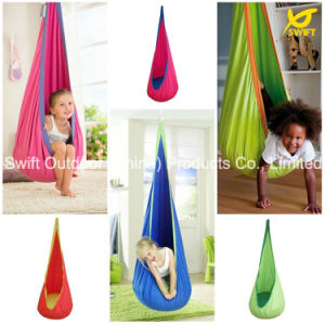 High Quality Cotton Kids Pod Swing Baby Hammock pictures & photos