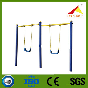 Outdoor Fitness Equipment for Child (Double-unit Chrildren′s SwingTXJ-E006)