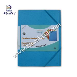 Folded Elastic Strap Document Cover (BLY8 - 0507 PF)