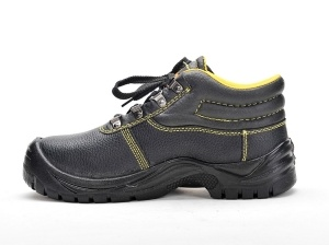 Work Safety Shoes (Upper: Genuine leather Sole: PU) pictures & photos