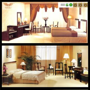 Modern Customized Wooden Hotel Bedroom Furniture Bedroom Set (HY-029) pictures & photos