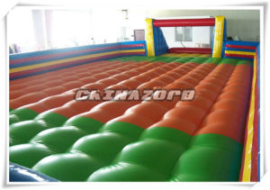 Top Quality Inflatable Soccer Pitch with Soft Inflated Bottom pictures & photos