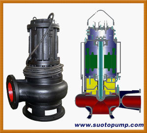 Non-Clog Waste Water Centrifugal Sewage Submersible Pump (WQ) pictures & photos