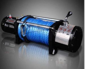13000lbs Electric Winch with Synthetic Rope and Wireless Remote