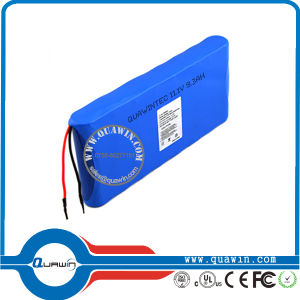 11.1V 9300mAh Li-ion Rechargeable Battery Pack Cylindrical 18650 Batteries pictures & photos