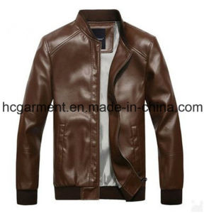 Motorcycle Jacket, Safety Waterproof PU Leather Jackets for Man pictures & photos