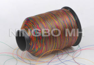 100% Polyester Variegated Embroidery Floss Thread pictures & photos
