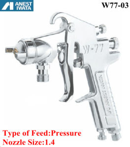 Anest Iwata Air Spraying Gun Pressure Feed 1.4 Nozzle pictures & photos