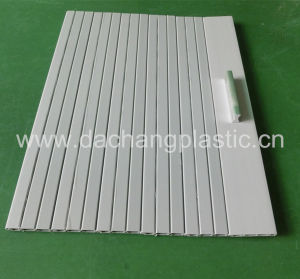 China Mini Plastic Roller Shutter Slats For Tambour Door
