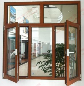 Aluminium Casement Window with Top Fanlight (BHA-CWP03) pictures & photos
