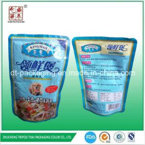 Doypack Aluminum Foil Packaging Bag for Dog Food