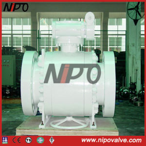API 6D Trunnion Mounted Flanged Ball Valve (Q47F) pictures & photos
