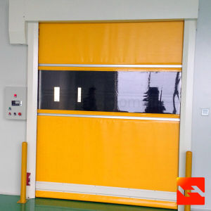 PVC High Speed Rolling Doors for Food Factory (HF-1049) pictures & photos