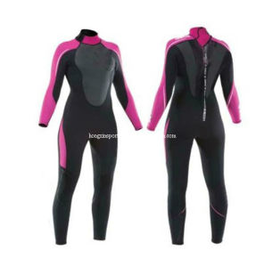Women′s Full Length Neoprene Wetsuit (HXL0017) pictures & photos
