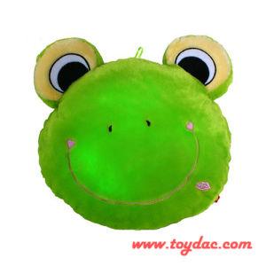 Plush LED Frog Cushion pictures & photos