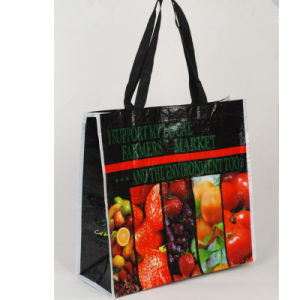 Customized Plastic PE Portable Shopping Bag pictures & photos