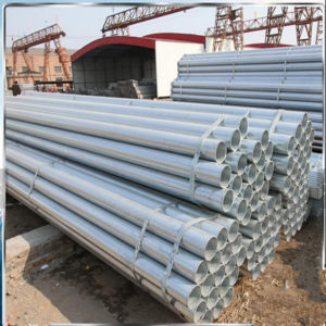1.5inch Zinc Coated BS1387 Galvanized Steel Pipe for Greenhouse Frame pictures & photos