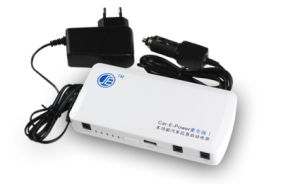 12000mAh Car Jump Starter Power with Li-ion Rechargeable Battery