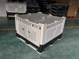 1162X1162 Vented Collapsible Australian Standard Plastic Bulk Container pictures & photos