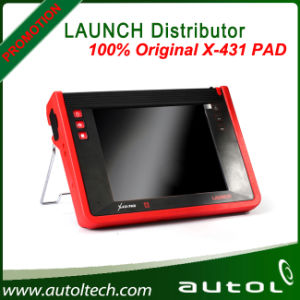 Launch Authorized Distributor X431 Pad Tablet Diagnostic Scanner Work Via 3G Wi-Fi and Bluetooth pictures & photos