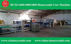 Hcm-2000 Automatic Honeycomb Core Machine pictures & photos