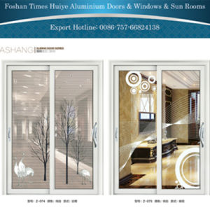 Aluminum Sliding Building Door with Customized pictures & photos