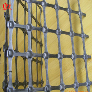 Biaxial Geogrid Is Used in The Parking Lot pictures & photos