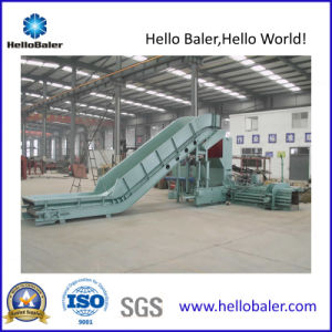 Hello Baler 120t Hydraulic Horitonal Waste Paper Baler Press pictures & photos