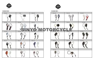 Full Range Motorcycle Rear View Mirrors pictures & photos