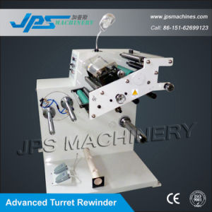 Jps-320fq-Tr PVC Tarpaulin Roll Slitter with Turret Rewinder pictures & photos