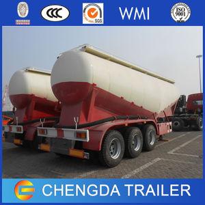 Factory Tri-Axle V Shape 45cbm Cement Tanker Trailer pictures & photos
