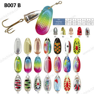 Colorful Metal Fishing Lure Spinner pictures & photos