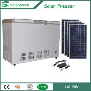 138L Factory Price 12/24V DC Compressor Solar Freezer Fridge Refrigerator pictures & photos