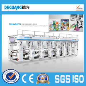 Automatic Film Paper Plastic Printing Machine pictures & photos