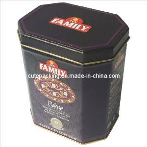 FDA Approved Rectangular Tea Tin Box (TB02)