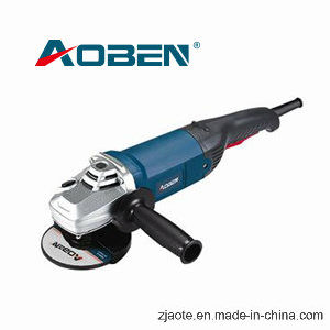 125/150mm 1400W Professional Electric Angle Grinder Power Tool (AT3121A) pictures & photos