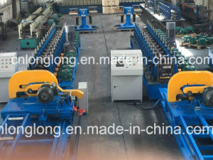 Construction Structural Section Roll Forming Machine with Long Life Service pictures & photos