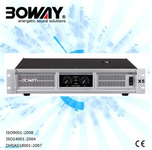 X4 Two Channel Professional Amplifier with Ce Certificate pictures & photos