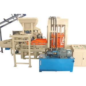 Fully Automatic Concrete Cement Brick Forming Machine pictures & photos
