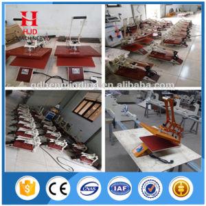 Ce Manual Heat Press Machine T Shirt Transfer Machine pictures & photos