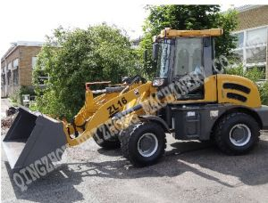 1.6ton Loading 4 Drive Truck Loader Hzm 916 with Front Loader pictures & photos