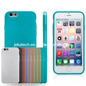 Brushed Soft Gel TPU Case for iPhone 6 pictures & photos