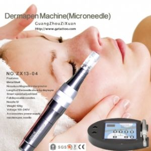 Hot-Selling Microneedle Therapy System Derma Pen for Personal Skin Care 12pins pictures & photos