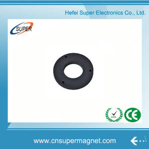 Manufacturer Y25 Ferrite Ring Magnet pictures & photos