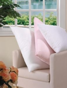 Cotton Solid Colours Microfiber Filling Pillows