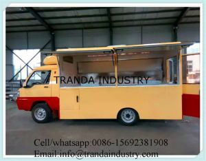 Gasoline Churros Bubble Tea Kiosk Truck Refrigerated Cupcake Kiosk pictures & photos