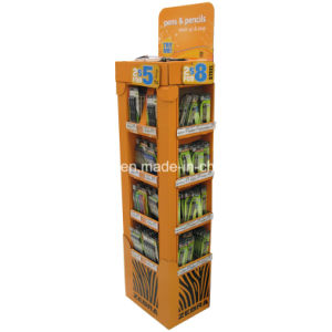 Corrugated Paper Floor Displays Pop Displays Cardboard Hangsell Cardboard Display pictures & photos
